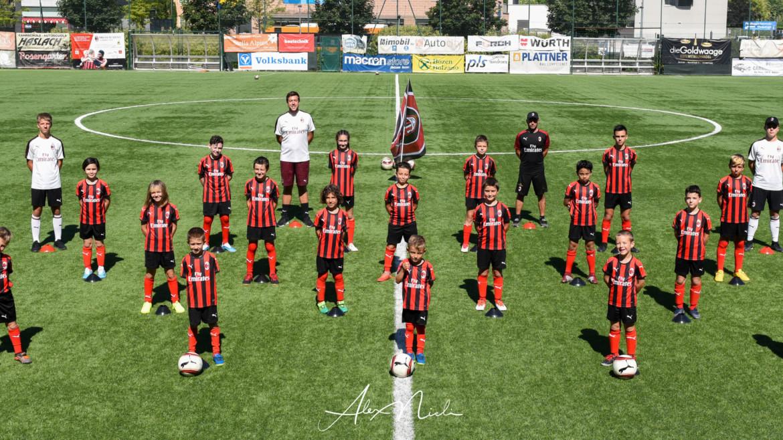Grande entusiasmo per il primo Milan Junior Camp a Bolzano