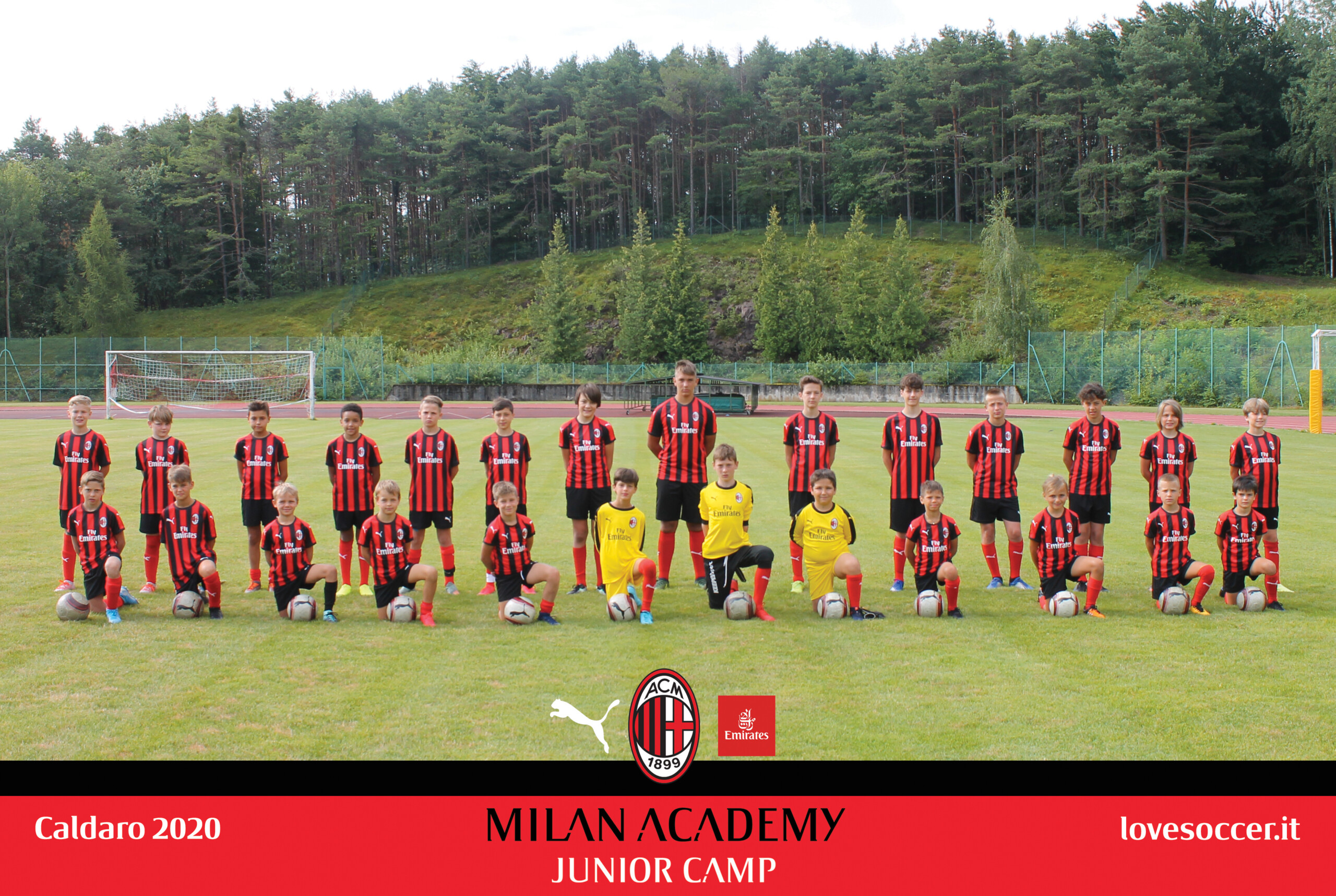 Comunicato stampa MILAN JUNIOR CAMP 2021