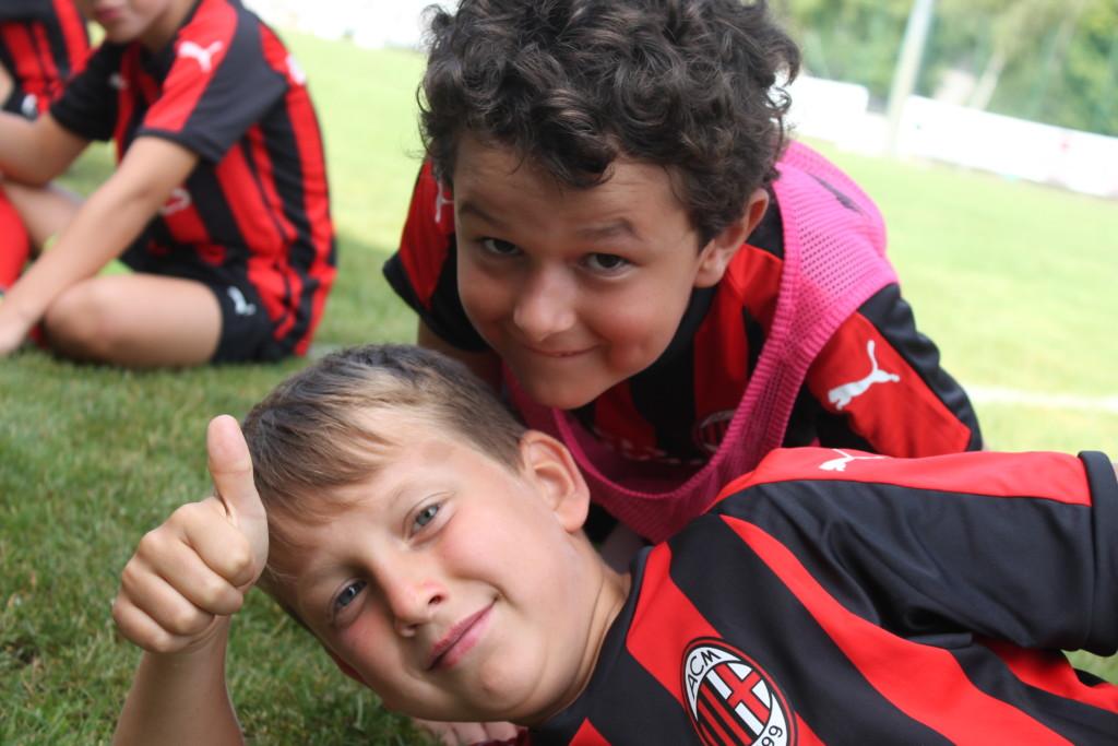 Continuano le iscrizioni in Alto Adige per i Milan Junior Camp