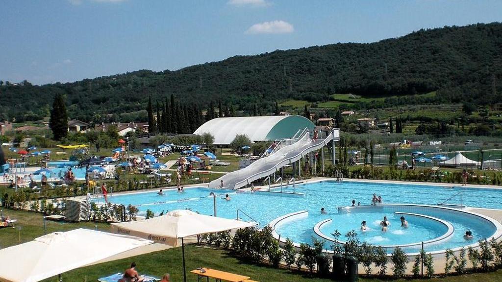 A Garda presso Gardacqua coi Milan junior Camp
