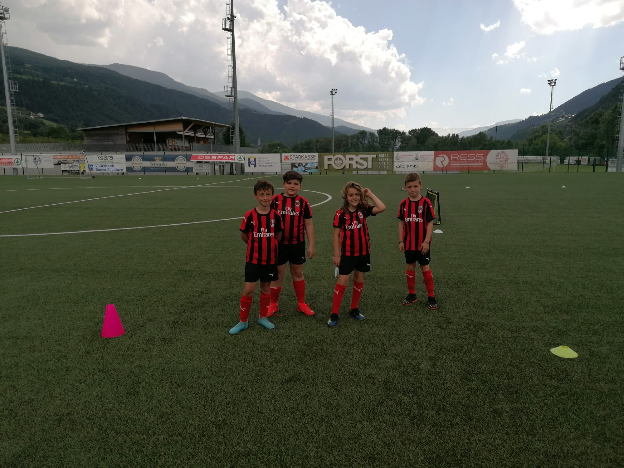 Partito a pieno ritmo il camp di Bressanone!