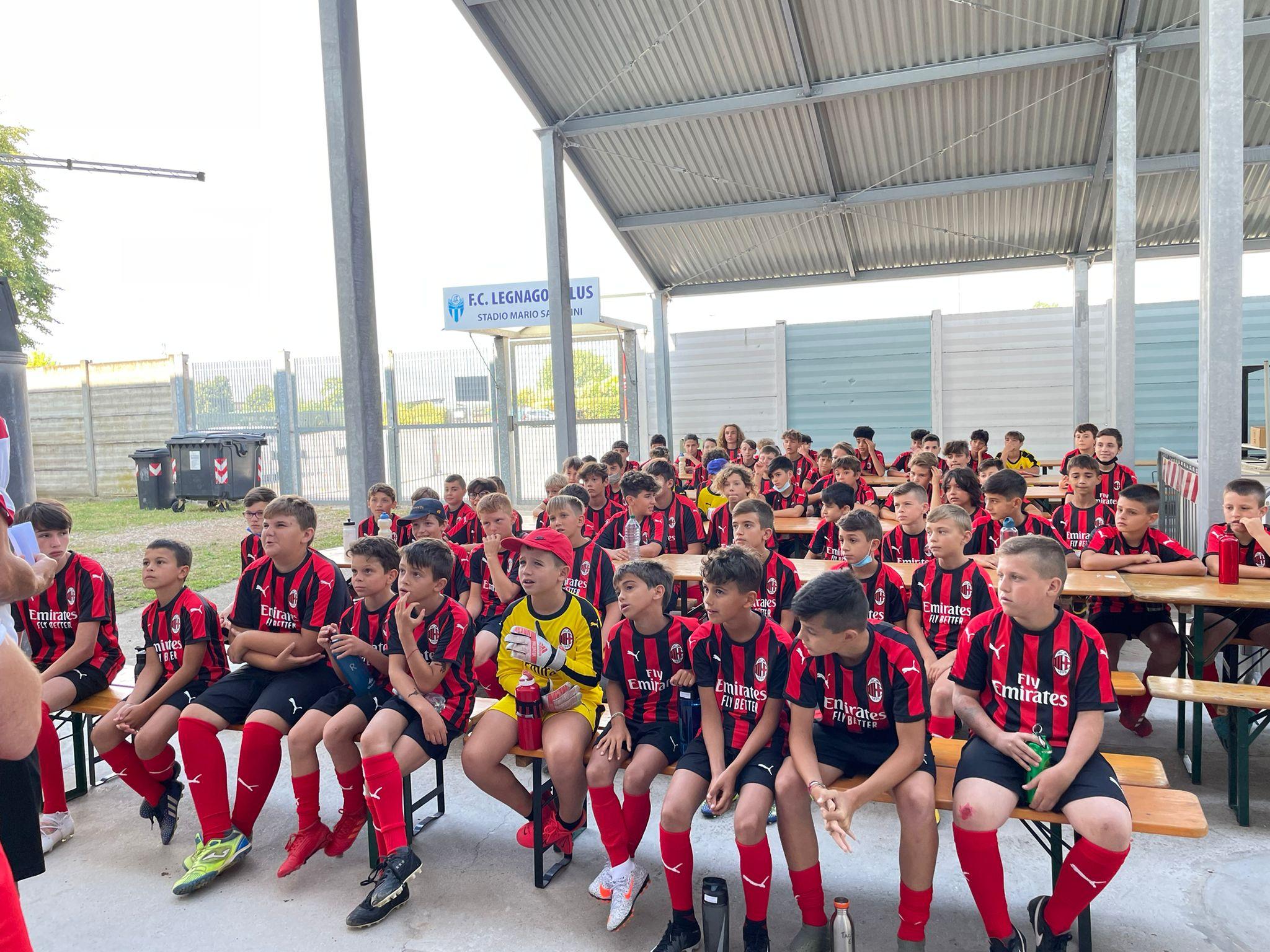 A Legnago 71 atleti rossoneri